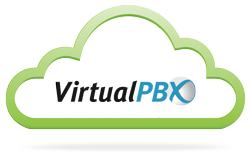 VirtualPBX Cloud with Logo